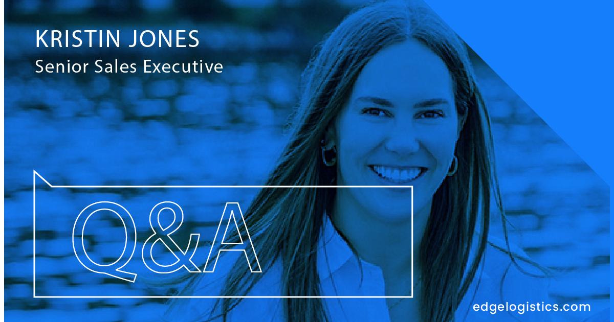Meet Kristin Jones- Senior Sales Executive
